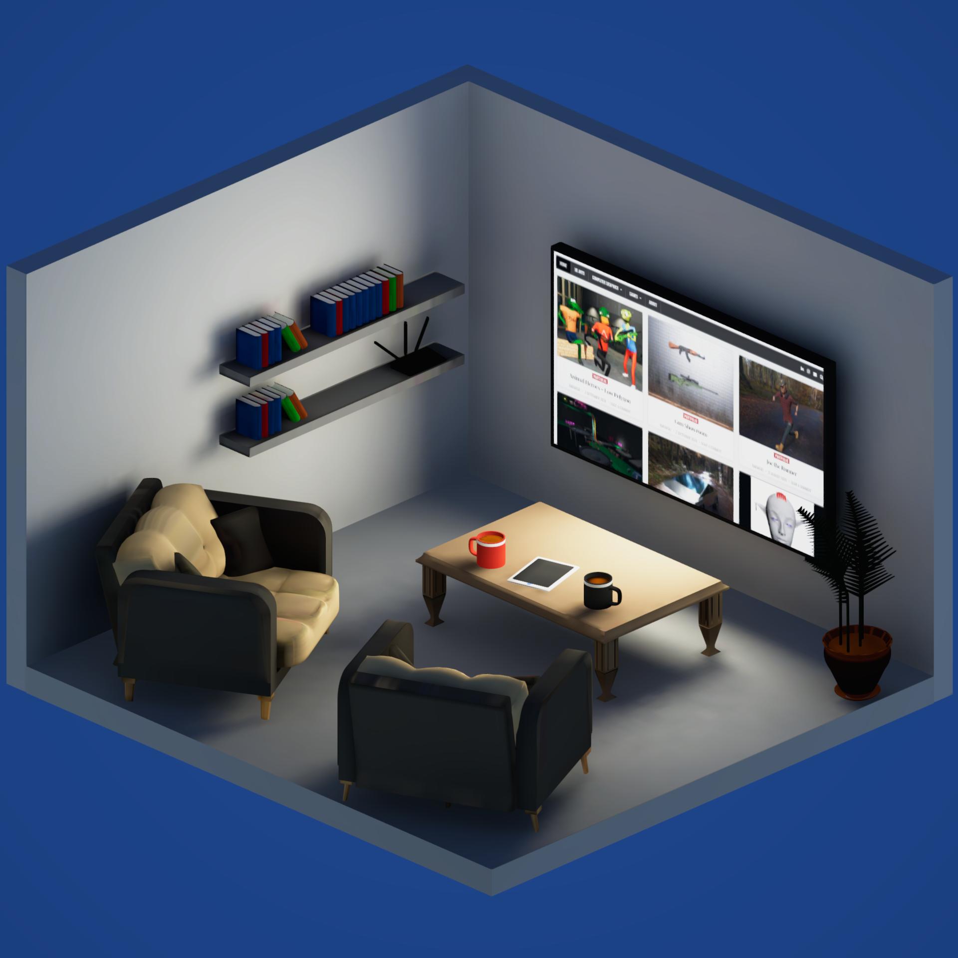 Living Room – Minimal